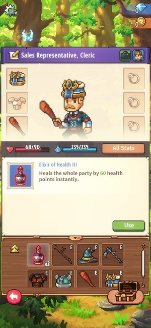 Knights of Pen and Paper 3 Screenshot 3