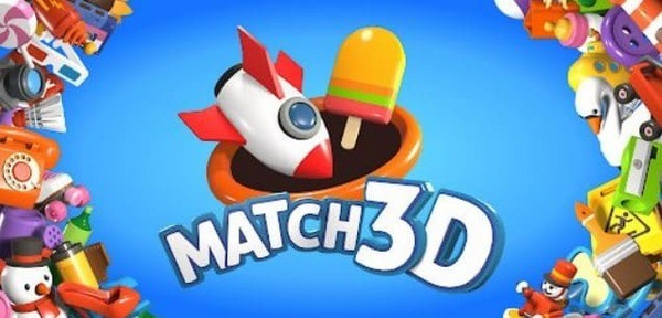 Match 3D Logo