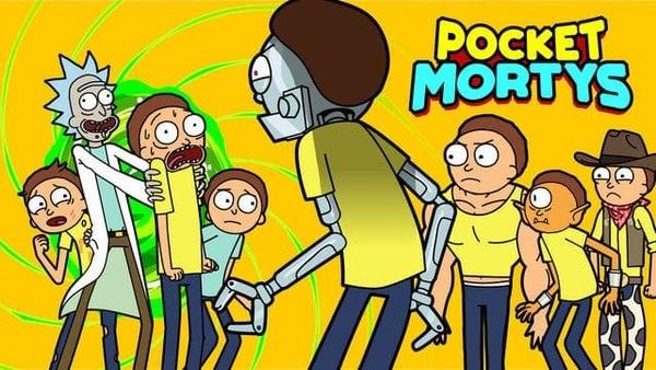 Pocket Mortys Logo