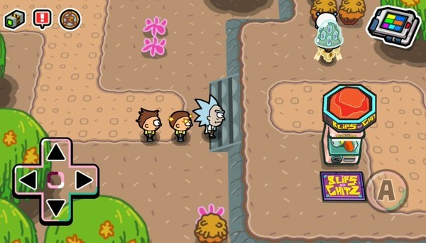 Pocket Mortys Screenshot 3