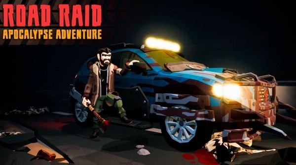 Road Raid Logo