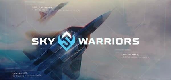 Sky Warriors Blazing Clouds Logo