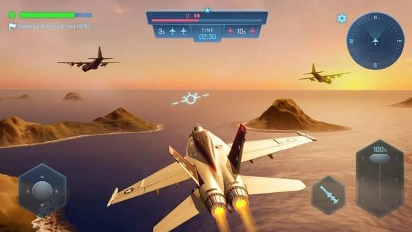 Sky Warriors Blazing Clouds Screenshot 1