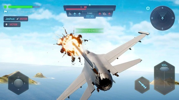 Sky Warriors Blazing Clouds Screenshot 3