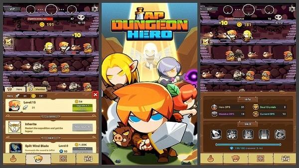 Tap Dungeon Hero Logo