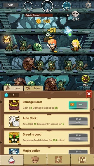 Tap Dungeon Hero Screenshot 3