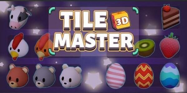 Tile Master 3D Logo
