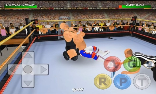Wrestling Revolution 3D Screen 1
