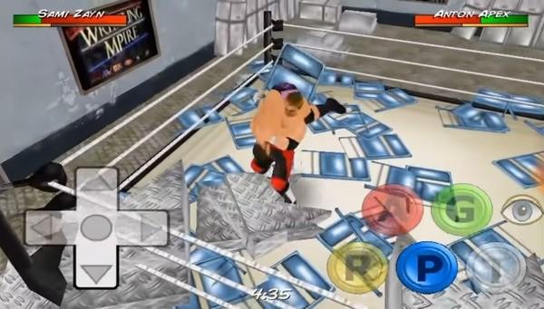 Wrestling Revolution 3D Screen 2