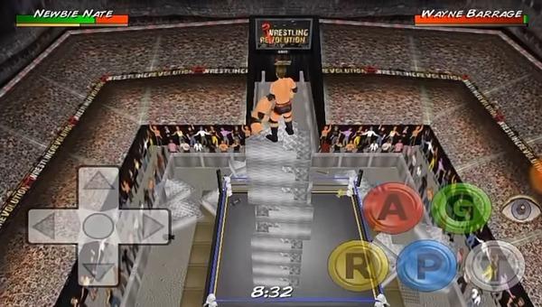 Wrestling Revolution 3D Screen 3