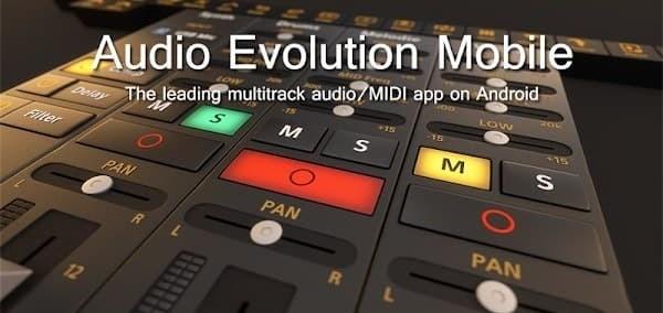 Audio Evolution Mobile Studio Logo