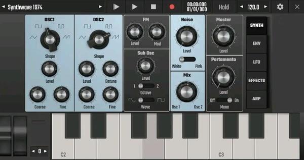 Audio Evolution Mobile Studio Screenshot 3