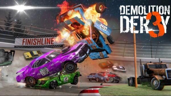 Demolition Derby 3 Logo