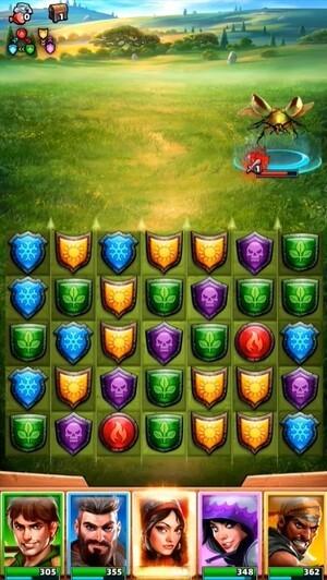 Empires & Puzzles Screenshot 1