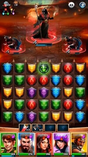 Empires & Puzzles Screenshot 2