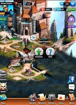 Empires & Puzzles Screenshot 3
