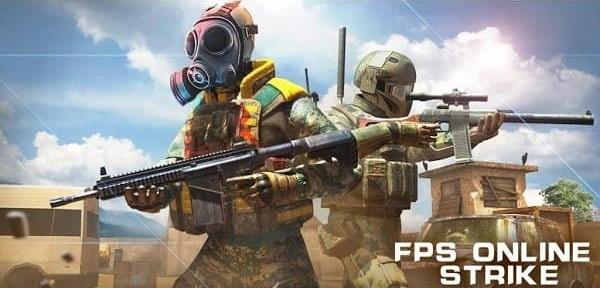 FPS Online Strike Logo