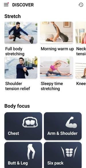 Home workout Screenshot 2