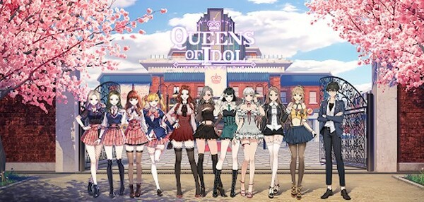 Idol Queens of K-Pop Logo