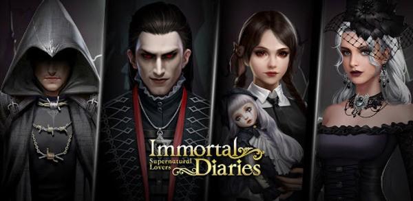 Immortal Diaries Logo