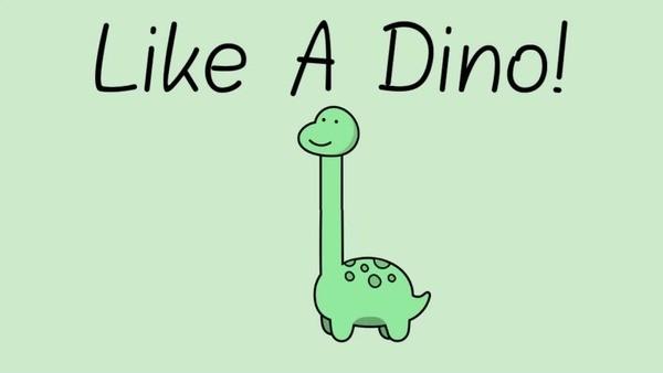 Like a Dino Logo