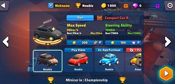 Minicar io Messy Racing Screenshot 1