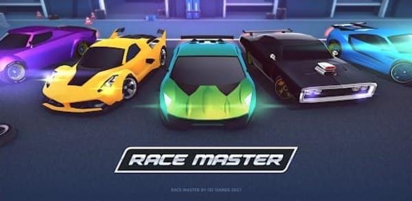 Race Master 3D Logo