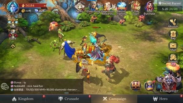 Rage of Destiny Screenshot 1