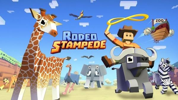 Rodeo Stampede Logo
