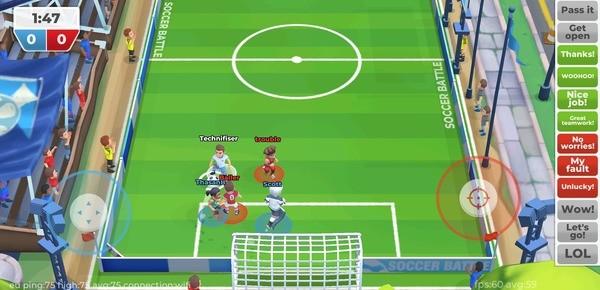 Soccer Battle - 3v3 PvP Screenshot 1