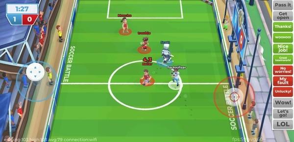 Soccer Battle - 3v3 PvP Screenshot 2