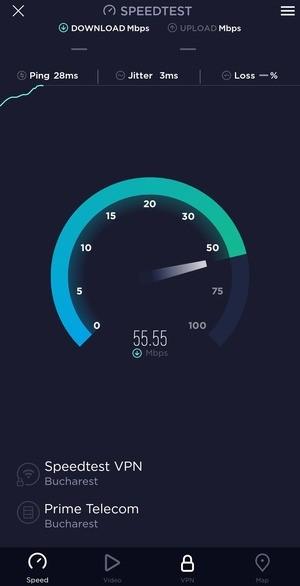 Speedtest Screenshot 1