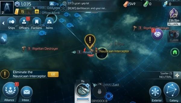 Star Trek Fleet Command Screenshot 1