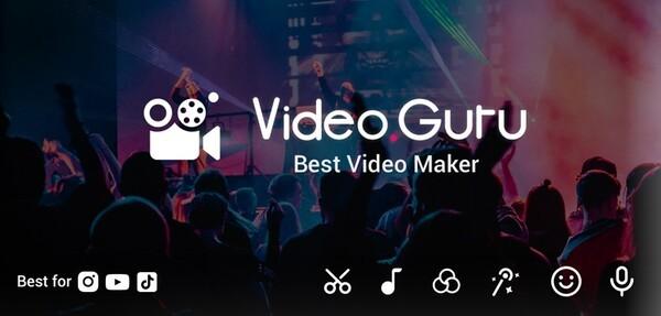 Video Guru - Video Maker Logo