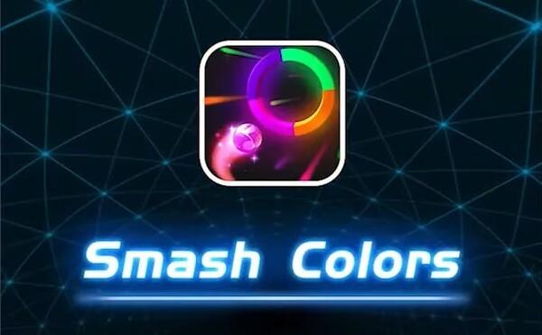 smash colors 3d logo
