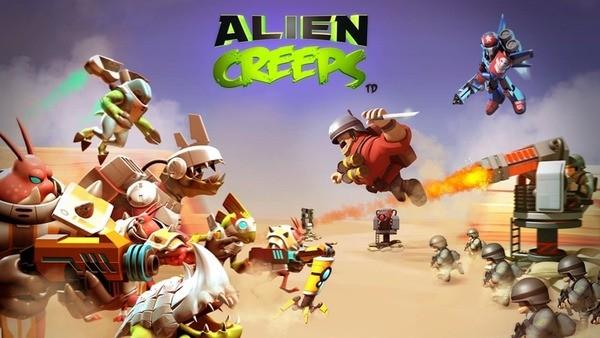 Alien Creeps TD Logo