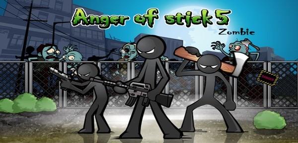 Anger of Stick 5 Logo