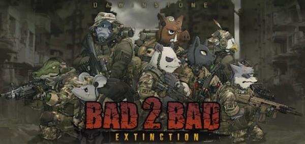BAD 2 BAD Extinction Logo