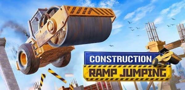 Construction Ramp Jumping Logo
