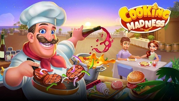 Cooking Madness Logo