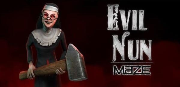 Evil Nun Maze Logo