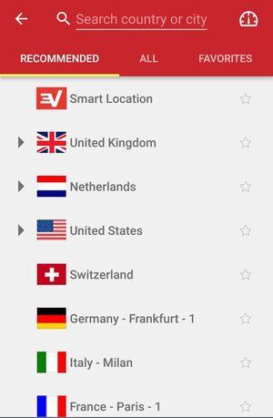 ExpressVPN Screenshot 2