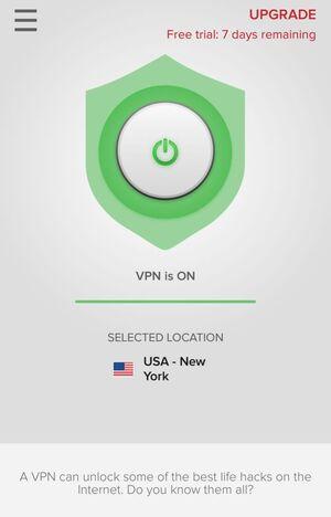 ExpressVPN Screenshot 3