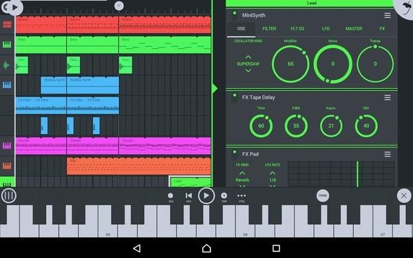 FL Studio Mobile Screen 1