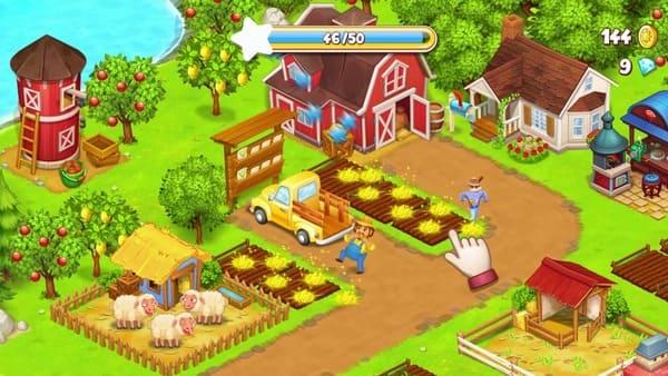 Farm Town Logo