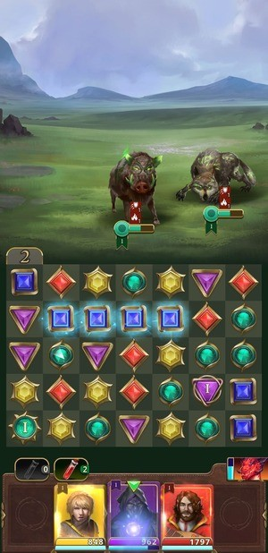 Gemstone Legends Screenshot 1