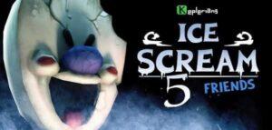 Ice Scream 5 Friends Logo