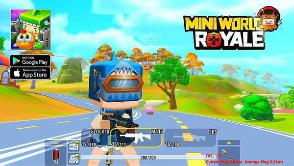 Mini World Royale Logo