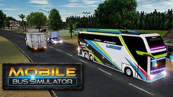 Mobile Bus Simulator Logo