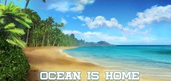 Ocean Is Home Mod Logo